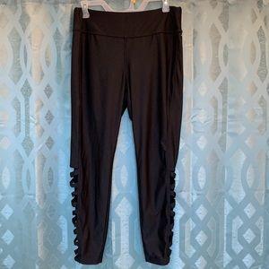 Jockey Women's size XL black stretch athletic pant